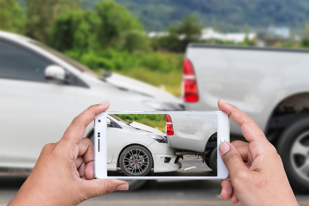 documenting car accident damage